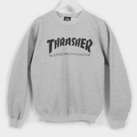 Thrasher Sweat Crew Skate Mag